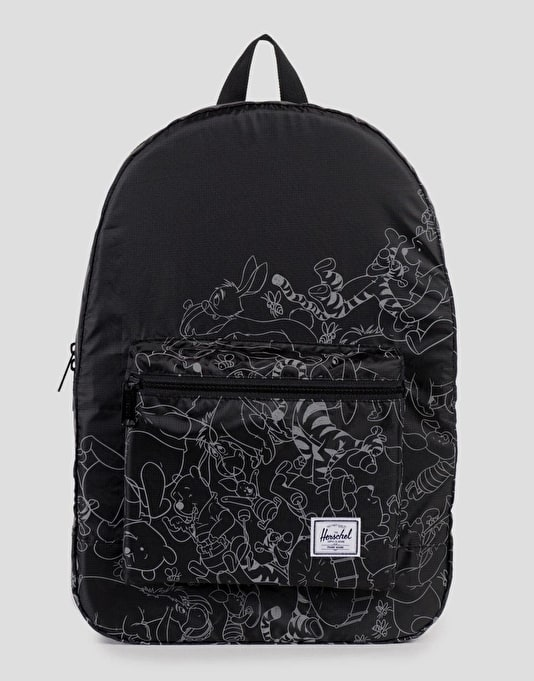 Herschel Supply Co. x Disney Packable Backpack - Black/Screen Print
