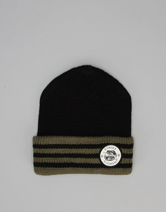 Etnies x Element Vison Serpent Beanie - Black