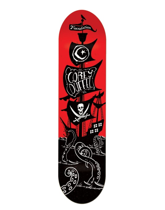 Foundation Duffel Pirate Ship Pro Deck - 8.125""