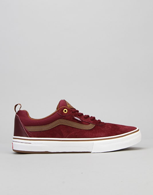 Vans Kyle Walker Pro Skate Shoes - Red Dahlia