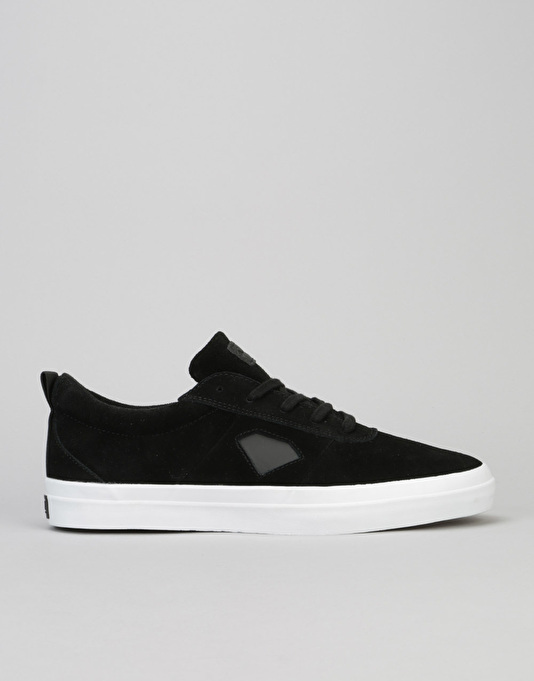 Diamond Supply Co. Icon Skate Shoes - Black Suede