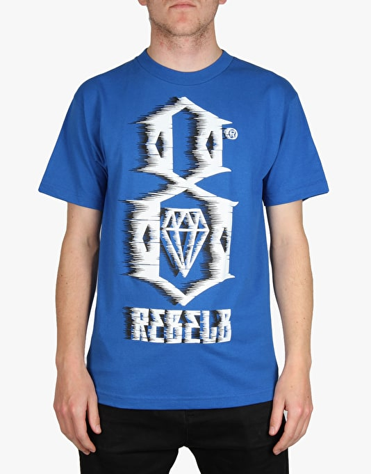 Rebel8 88 MPH T-Shirt - Royal