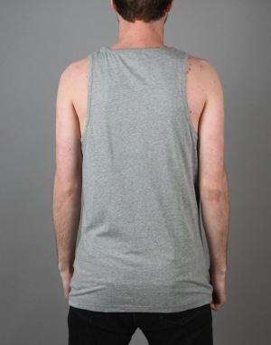 Converse Core Left Chest CP Tank - Vintage Grey Heather