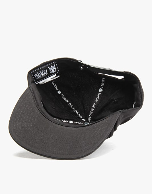 Element Knutsen Snapback Cap - Black