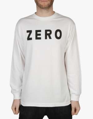 Zero Army L/S T-Shirt - White