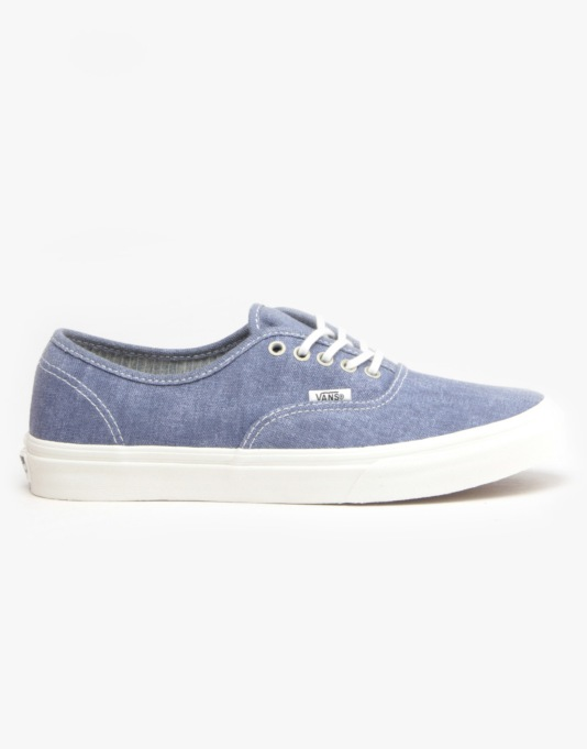 4b01a94bb4 Vans Authentic Slim - (Stripes) Washed  Navy