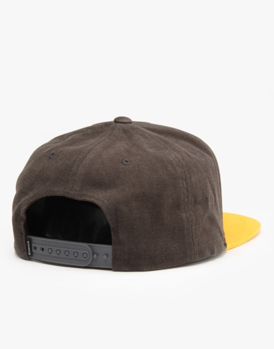 Emerica Standard Issue Snapback Cap - Smoke