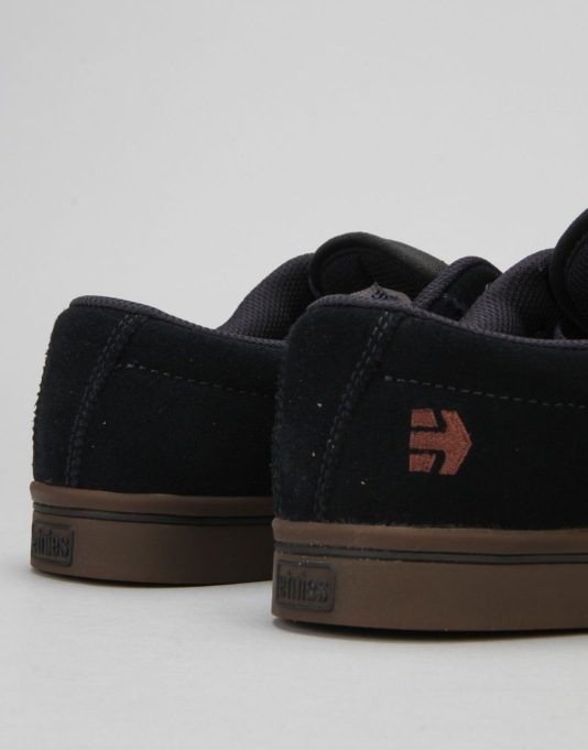 Etnies Jameson 2 Eco Skate Shoes - Navy/Navy/Gum