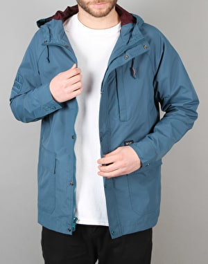 HUF Ascent Mountain Parka Jacket - Jade/Wine