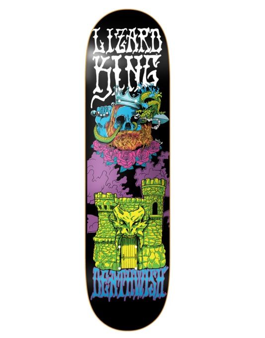 Deathwish Lizard King Blacklight Pro Deck - 8.25""