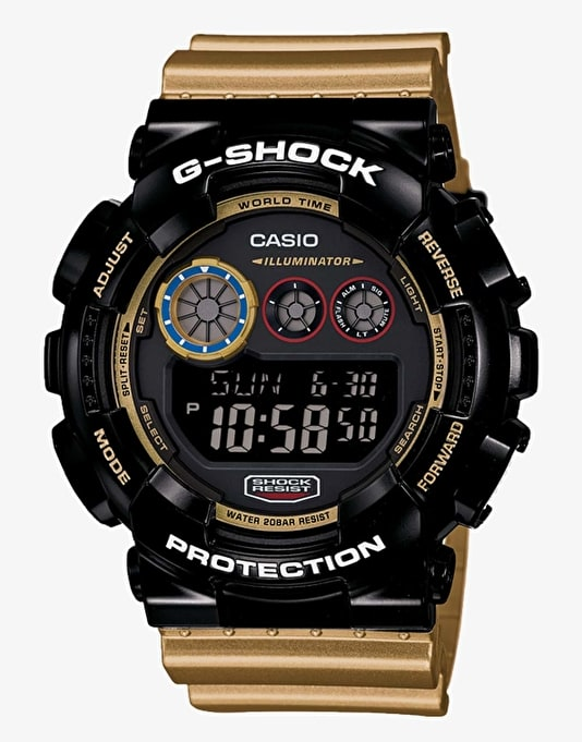 G-Shock GD-120CS-1 Watch - Crazy Sports Black