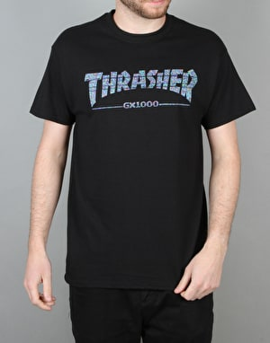 Thrasher GX1000 T-Shirt - Black