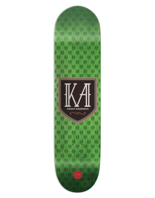 Chocolate Anderson Monogram Skateboard Deck - 8.125""