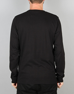 Carhartt L/S College T-Shirt - Black/White