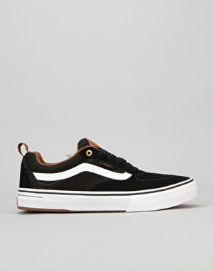Vans Kyle Walker Pro Skate Shoes - Black/White/Gum