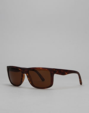 Electric Swingarm Sunglasses - Matte Tortoise/Medium Brown