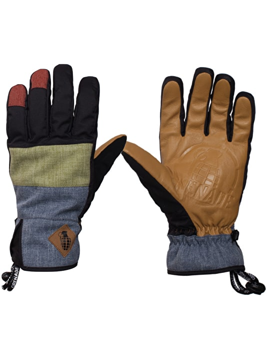Grenade Slashed 2016 Snowboard Gloves - Multi