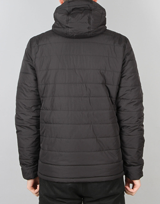 Element Hayden (Travel Well Collection) Quilted Puffa - Flint Black
