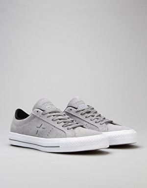 Converse One Star Pro Skate Shoes - Dolphin/Black/White