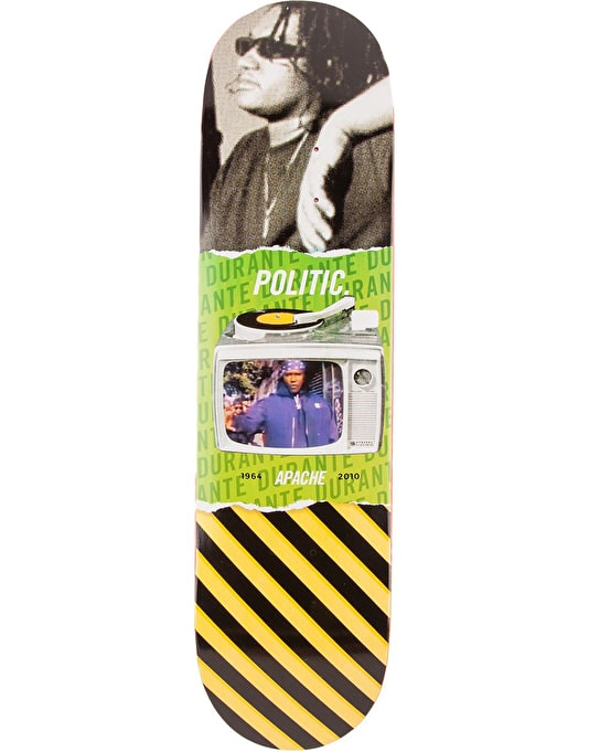 Politic Fallen Heroes Apache Team Deck - 8.125""