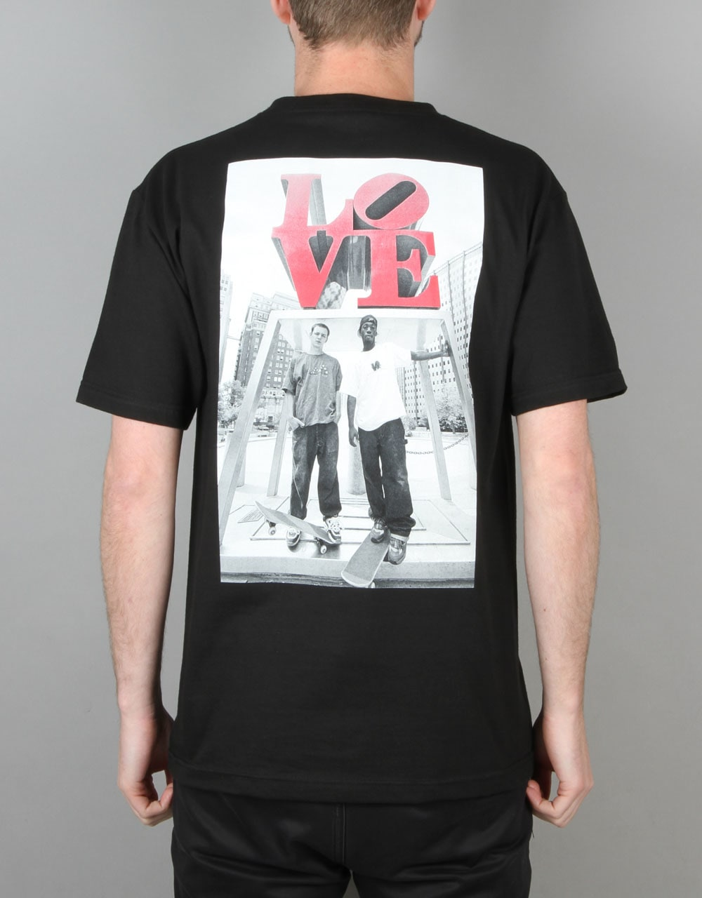 DGK x Mike Blabac Love Park  99 T-Shirt - Black  c06c18b90