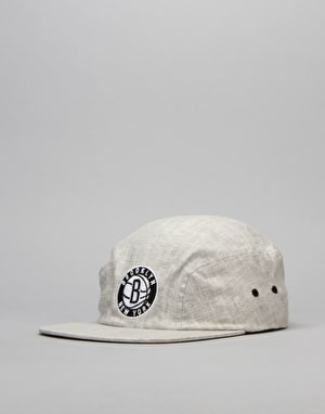 Mitchell & Ness NBA Brookyln Nets 2 Panel Military Cap - Grey