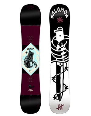 Salomon Assassin 2016 Snowboard - 155