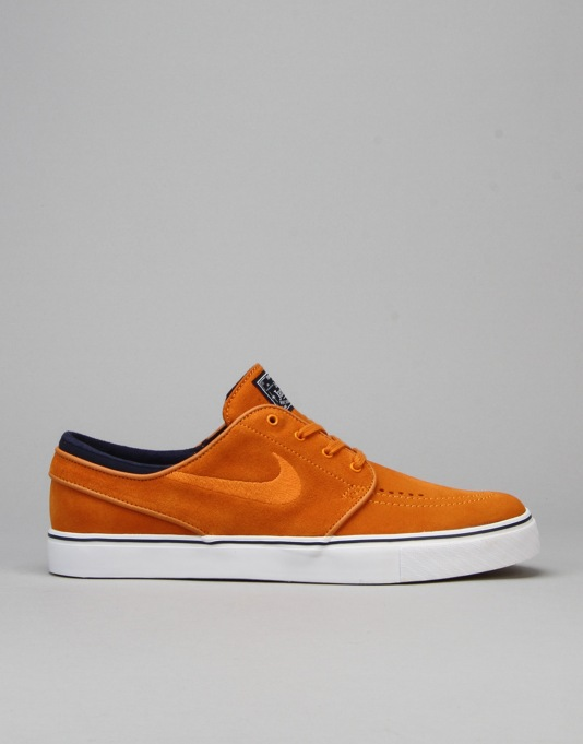 Nike SB Zoom Stefan Janoski Skate Shoes - Sunset/Light Brown