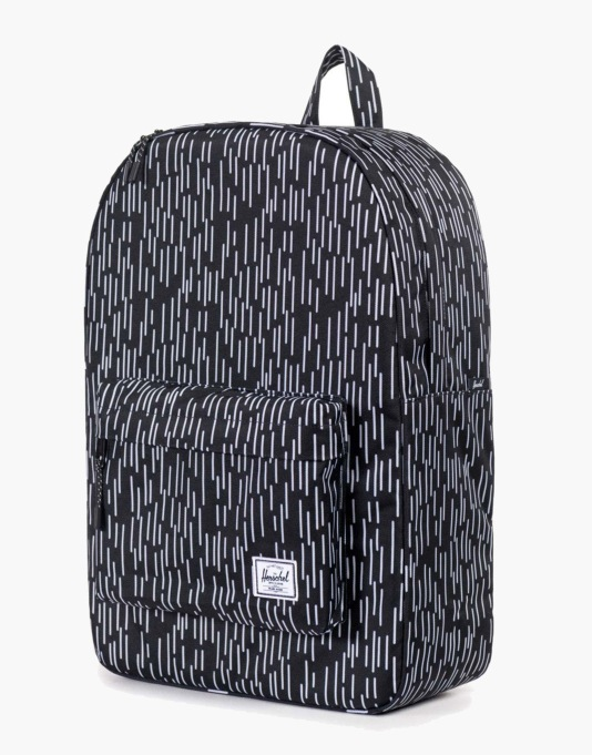 Herschel Supply Co. Classic Backpack - Black/White Rain Camo