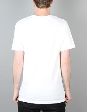 LRG Measure Twice Cut Once T-Shirt - White
