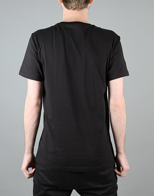 Adidas Blackbird Logo Fill T-Shirt - Black