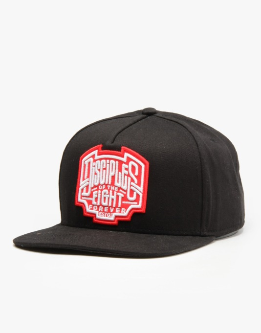 Rebel8 Disciples Of The Eight Snapback Cap - Black