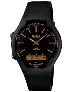 Casio AW-90H-9EVEF Watch - Black