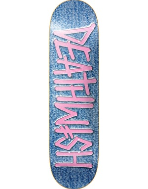 Deathwish Death Spray Stone Wash Team Deck - 7.75