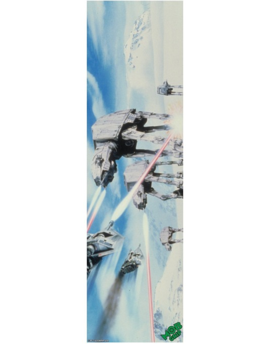 "MOB x Star Wars 9"" Graphic Grip Tape - Hoth Battle"