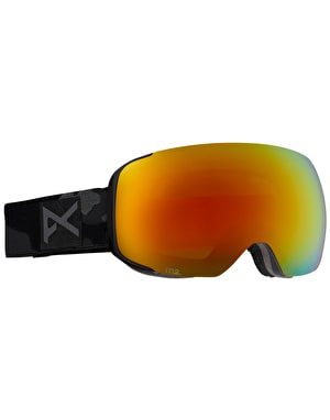 Anon M2 2016 Snowboard Goggles - Undefeated/Red Solex