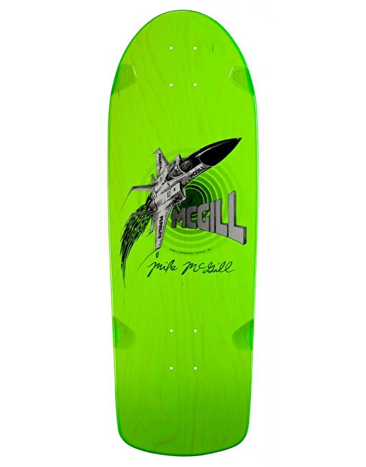 Powell Peralta McGill Jet Series #7 Reissue Pro Deck - 10.28""