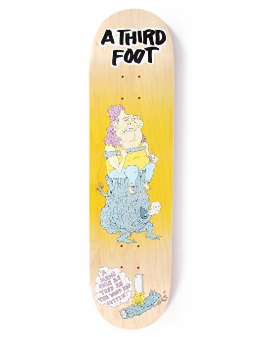 A Third Foot Log Bog Team Deck - 8""