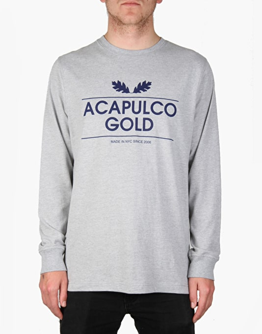 Acapulco Gold Sweet Leaf L/S T-Shirt - Heather Grey