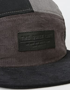 The Quiet Life Multi Panel 5 Panel Cap - Black