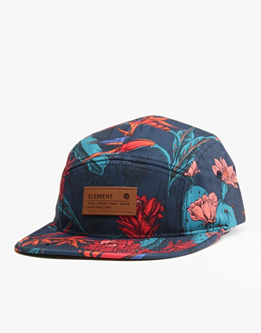 Element Orchid 5 Panel Cap - Navy
