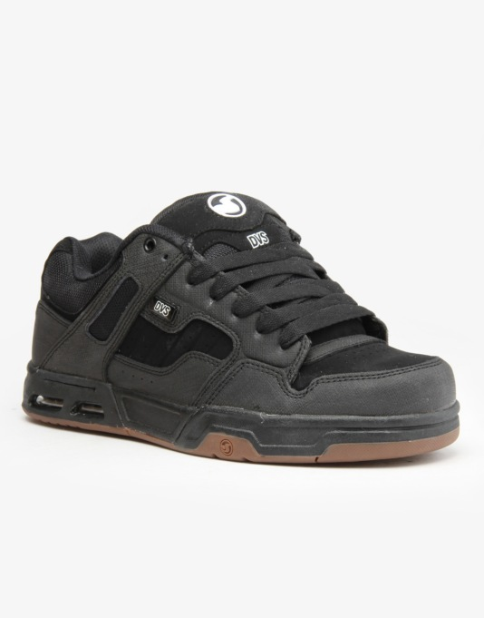 DVS Enduro Heir Skate Shoes - Black/ Gunny Nubuk