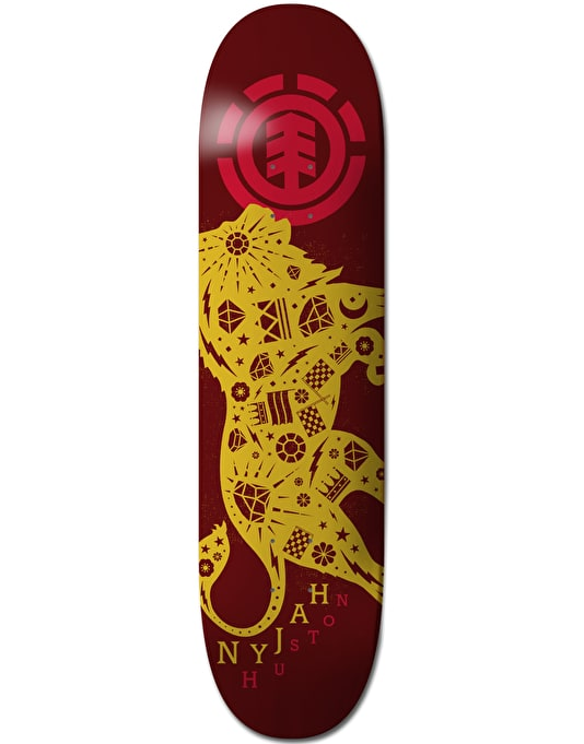 Element Nyjah Beastmode Featherlight Pro Deck - 8""