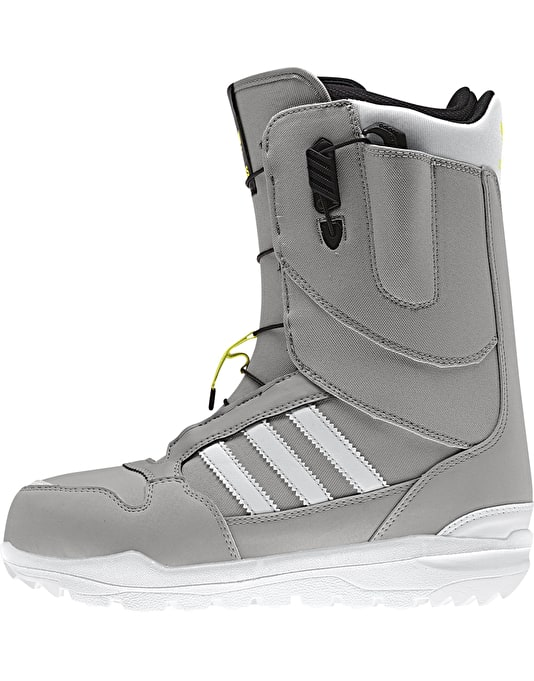 Adidas ZX 500 2016 Snowboard Boots - Mgh Solid Grey/White/Solar Yellow