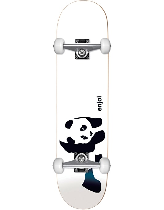Enjoi Whitey Panda Soft Top Micro Complete Skateboard - 6.75""