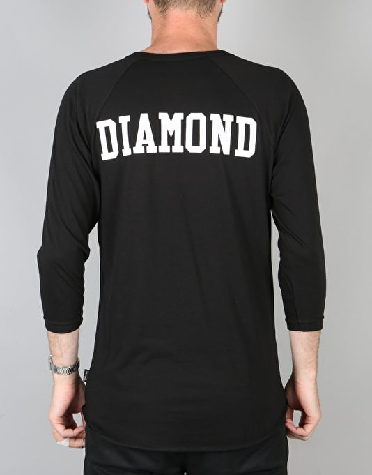 Diamond Supply Co. Un-Polo Raglan T-Shirt - Black