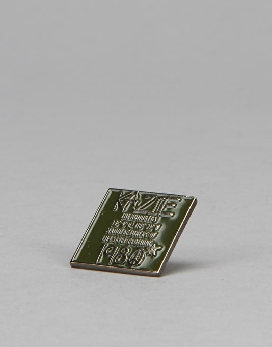 The Hundreds Peace Pin - Olive