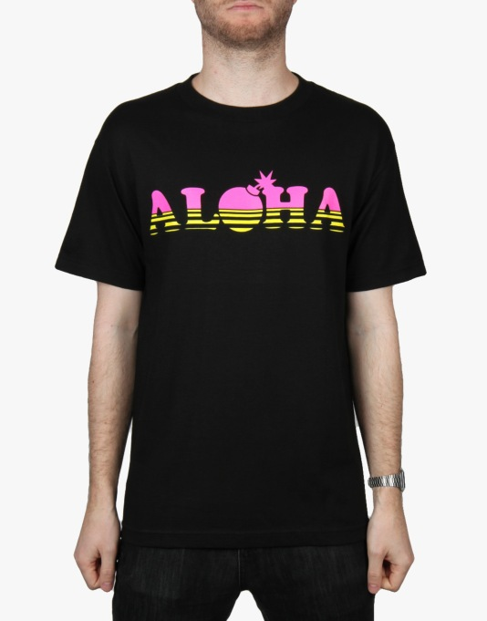 The Hundreds Aloha T-Shirt - Black