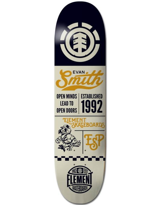 Element Evan Ballpark Featherlight Pro Deck - 8""