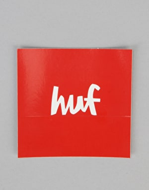 HUF x Chocolate Sticker - Red